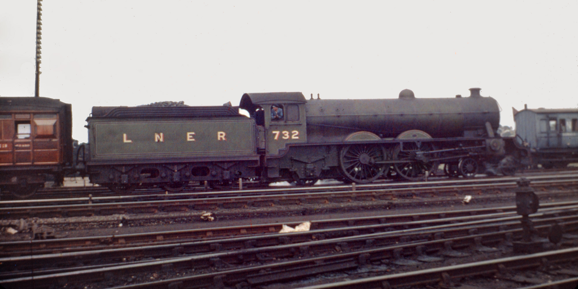 Lner Teak Coaches And Livery Steve Banks