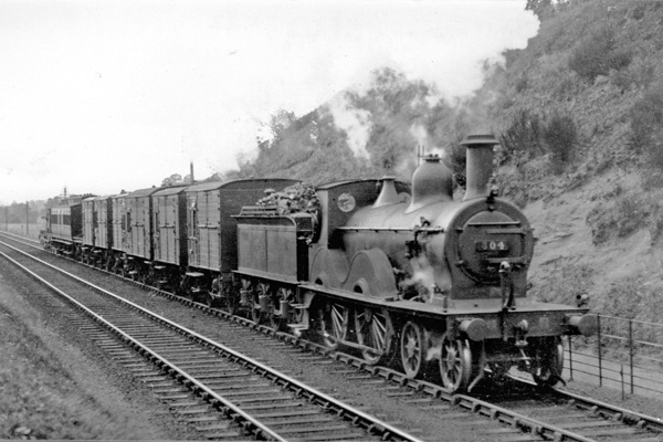 GWR horse train on Lickey