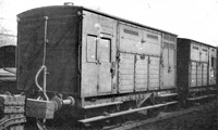 LSWR horse boxes