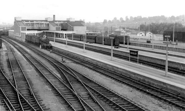 Banbury station c1957