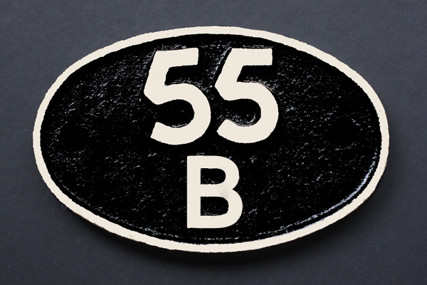 55B shed plate